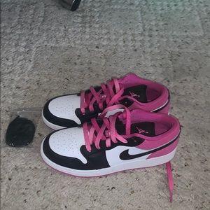 Nike Jordan 1 low tops size 5.5 y boys